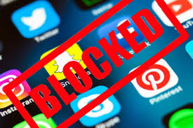 Internet blockade