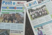 Lowveld Post newspaper edition hits Chiredzi streets and entire Lowveld region. Photo by Sheluzani Makhese, CAJ News