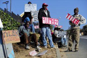 SA job seekers, file photo