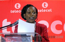 Telecel Zimbabwe Chief Executive Officer,  Angeline Vere