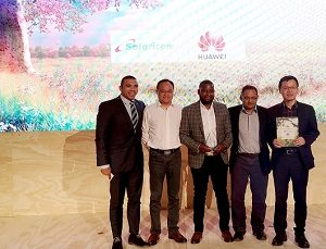 "Safaricom and Huawei Receive Prestigious ""Most Innovative Service"" Award at AfricaCom 2019"