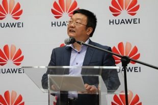 Huawei Consumer Business Group, Middle East and Africa Vice President, Likun Zhao. Photo, Akani Chauke, CAJ News Africa
