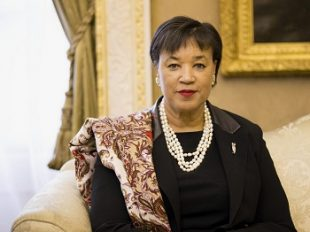 Commonwealth Secretary-General, Patricia Scotland