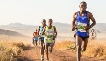 Lewa Safari Marathon, Kenya. File photo