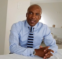 Business Connexion (BCX) Managing Executive of Sales, Mr. Nkosi Kumalo