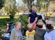 Joburg volunteers in parks cleaning