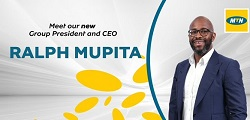 MTN Group President and Chief Executive Officer, Ralph Mupita