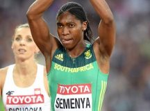 South African athlete, Caster Semenya