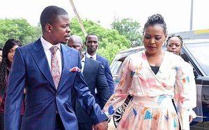 Prophet Shepherd Bushiri and wife Mary