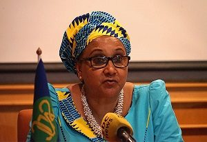 SADC Executive Secretary, Stergomena Lawrence