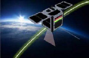 Mauritius' first satellite
