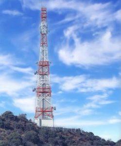 Vodacom base station in uMsinga, KZN