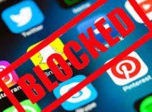 Internet blocked
