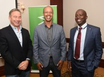 From left-to-right are SEACOM Chief Executive Officer Byron Clatterbuck, Microsoft Country Manager Sebuh Haileleul and SEACOM Managing Director EMEA Region Tonny Tugee. Photo by Maria Macharia, CAJ News Kenya Bureau
