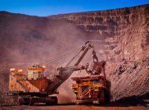 Mining activities in Africa