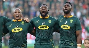 Springboks players in show of strength, courage and hunger for success at the ongoing 2019 Rugby World Cup in Japan