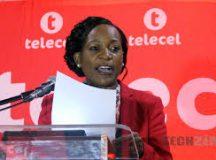 Telecel Zimbabwe Chief Executive Officer,  Angeline Vere