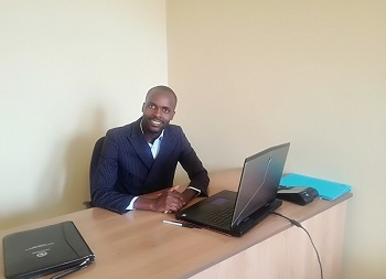 Founder and CEO of Click n Pay Investments, Lee Masuka. Photo by Wellington Toni, (ItNews Zimbabwe)