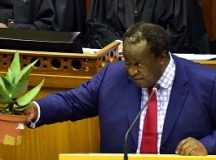 Finance minister, Mr Tito Mboweni