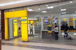One of the MTN stores. File photo
