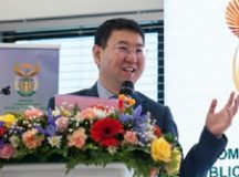 Huawei South Africa Chief Executive Officer, Spawn Fan