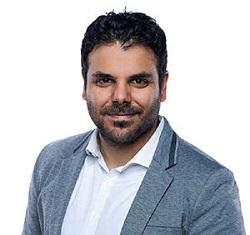 Evina Chief Executive Officer, David Lotfi