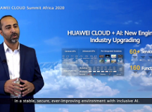 HUAWEI CLOUD Africa Region Senior Solutions Manager, George Thabit Ayad Thomas