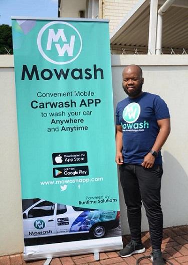 Mowash founder, Ayanda Dladla. Photo, Facebook